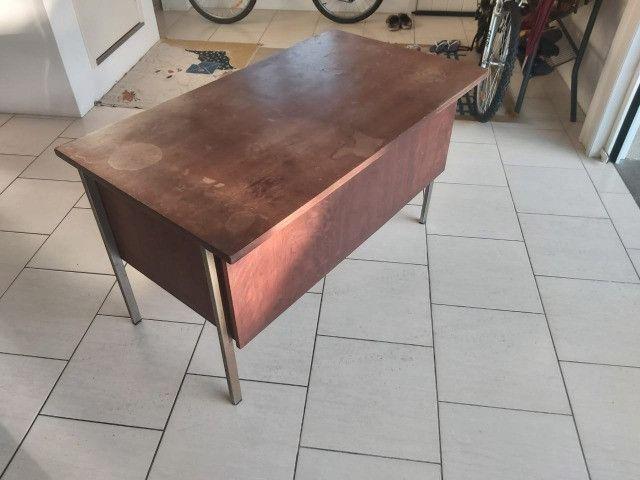 Escrivaninha de madeira para apreciadores-oferta - Foto 2