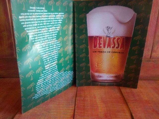 Antigo catálogo cerveja devassa RJ - Foto 4