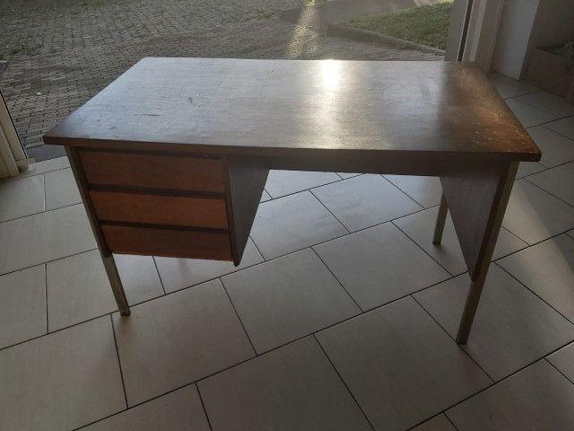 Escrivaninha de madeira para apreciadores-oferta - Foto 3