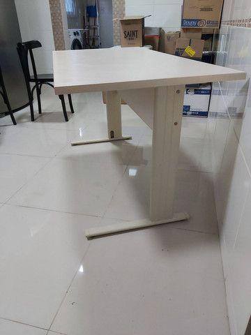 Vendo mesa de escritório escrivaninha  - Foto 4