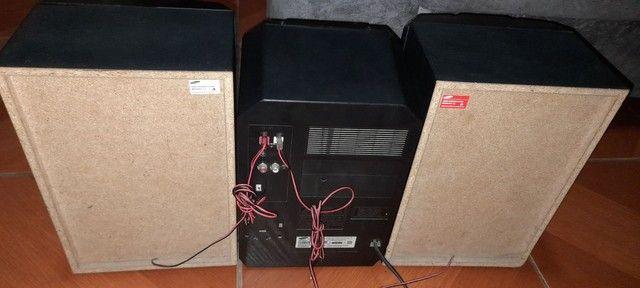 MINI SYSTEM SAMSUNG 200W 200 RMS ,LEIAM A DESCRIÇÃO.  - Foto 5
