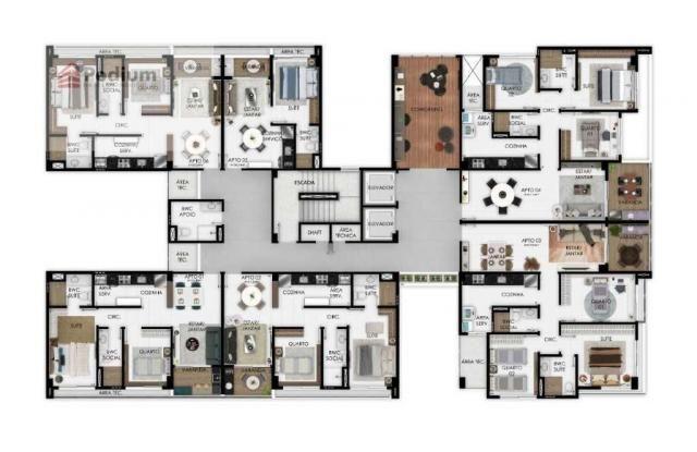 Apartamento à venda com 3 dormitórios em Manaíra, João pessoa cod:37326 - Foto 12
