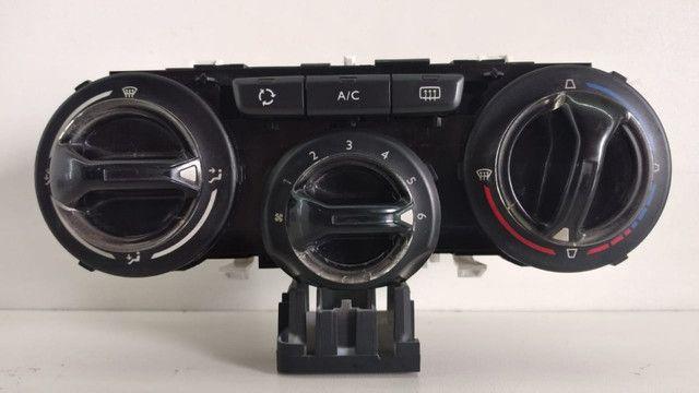 Comando de Ar Analógico Peugeot 208 Original Semi Novo