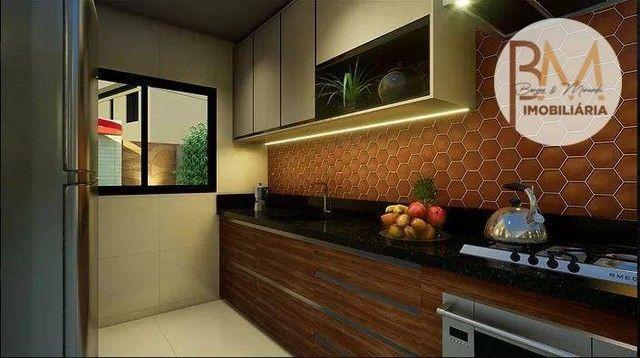 Casa com 4 dormitórios à venda, 108 m² por R$ 546.295,45 - Sim - Feira de Santana/BA - Foto 5