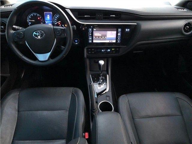 Toyota-Corolla Xrs 2.0 flex 2018 Financiamos sem comprovação de renda  - Foto 6