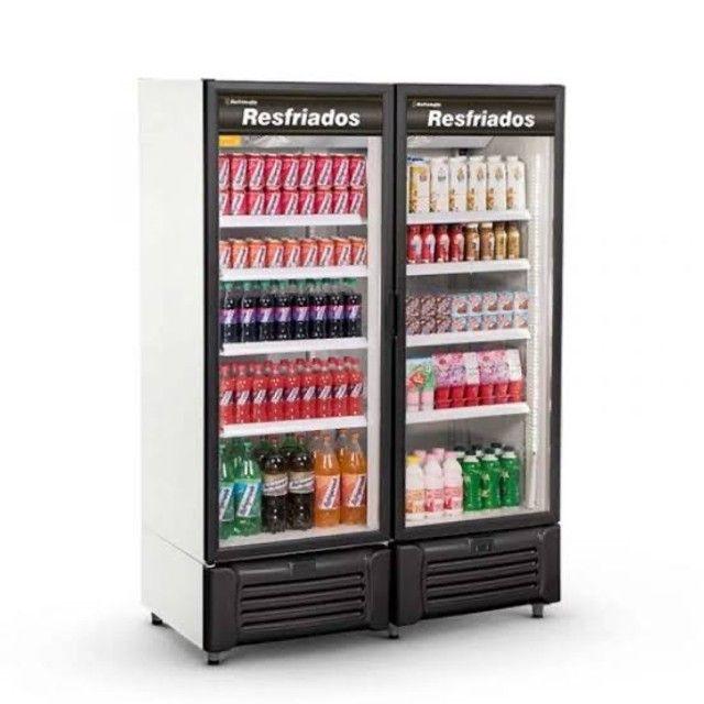 Visa cooler 2 portas 1300lts - JM equipamentos