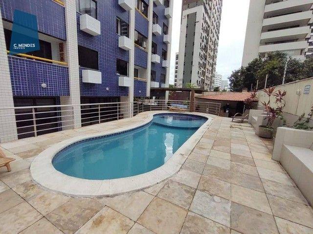Apartamento com 3 dormitórios à venda, 63 m² por R$ 420.000,00 - Meireles - Fortaleza/CE - Foto 4