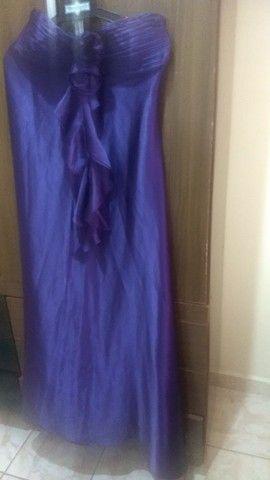 Vendo lindo vestido roxo  - Foto 2