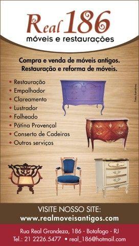 Restauração e venda de Móveis