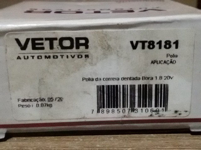 Polia de Apoio da Correia Dentada do Bora 1.8 20V - Foto 4