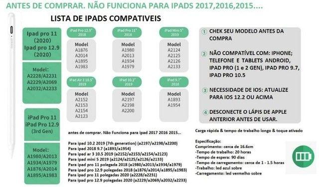 Caneta Stylus Goojoqoq 10ª Geração para Apple Ipad - Foto 6