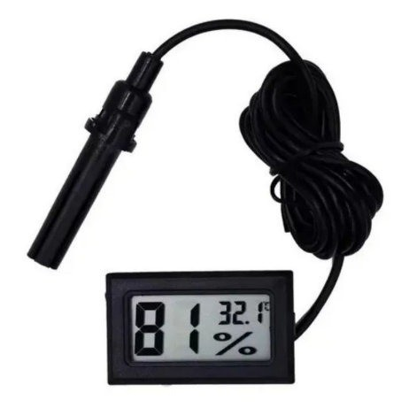 Medidor De Temperatura e Umidade Termo Higrômetro Para Chocadeiras