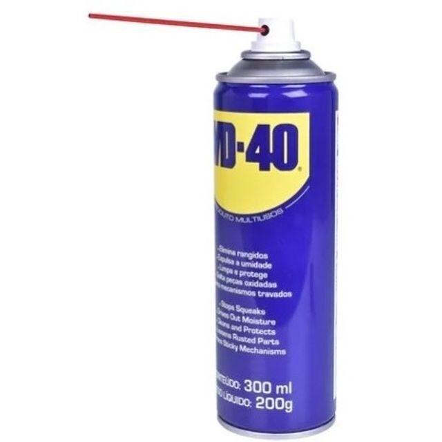 Desingripante Lubrificante Spray WD40 300ML/200g - WD-40  - Foto 2