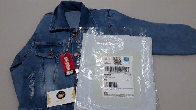 Jaqueta Jeans Infantil Feminina - Foto 6