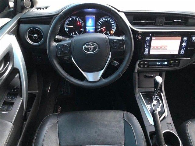 Toyota-Corolla Xrs 2.0 flex 2018 Financiamos sem comprovação de renda  - Foto 14