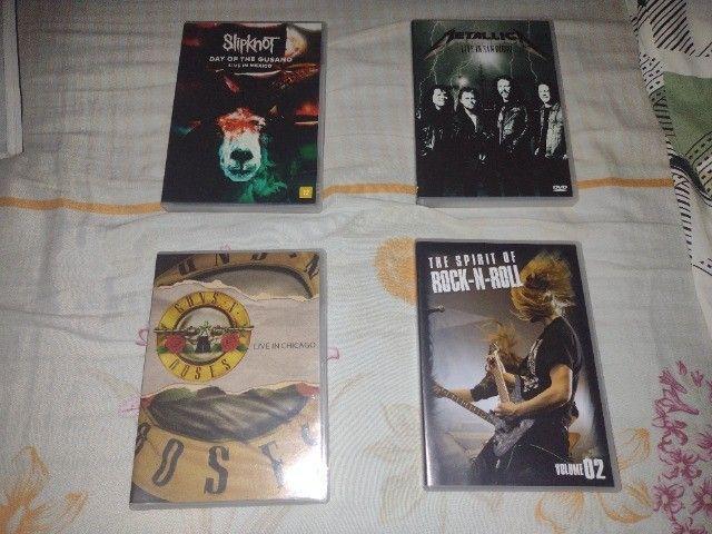 CDs e DVDs de Rock - Nacional e Internacional - Leia a descrição - Foto 4