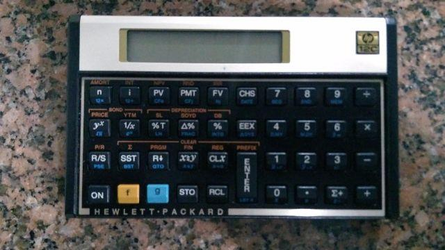 Calculadora Financeira hp12c