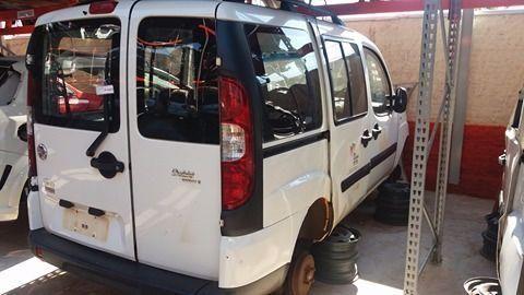 Peças usadas Fiat Doblo 2012 2013 1.8 16v 132cv flex câmbio manual - Foto 2