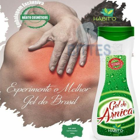 Atacado 10 Gel de Arnica Dores Musculares