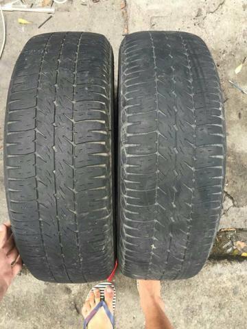 Par de pneu meia vida 185/65 R15