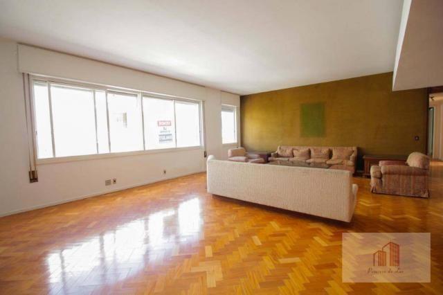 Amplo apartamento de 274m² e 4 quartos - Centro - Foto 3