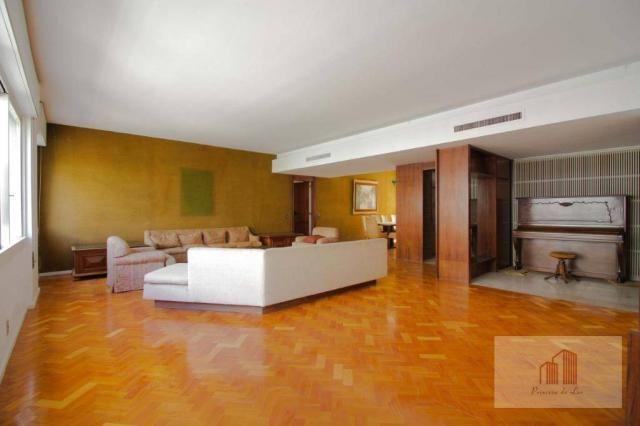 Amplo apartamento de 274m² e 4 quartos - Centro - Foto 4