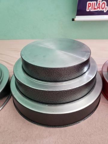 Jogos forma redonda de alumínio - Foto 3