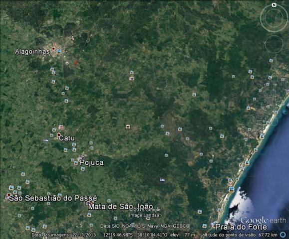 Terreno à venda em Santa terezinha, Alagoinhas cod:55592 - Foto 12