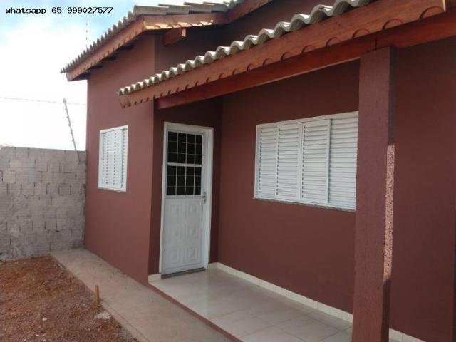 Casa para venda em várzea grande, novo mundo, 2 dormitórios, 1 banheiro, 2 vagas - Foto 12