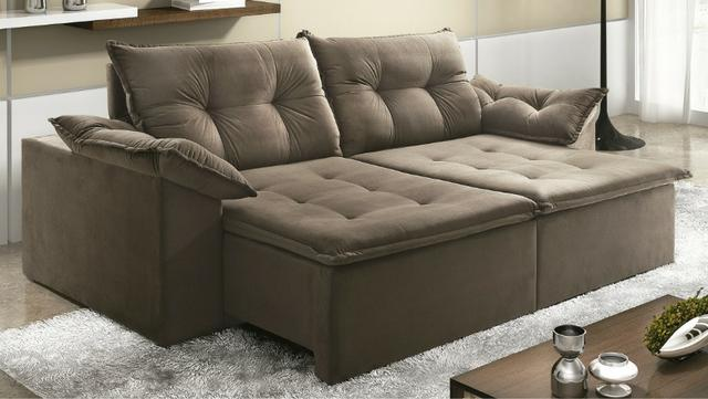 Sofá panejado de alto padrão - Foto 3
