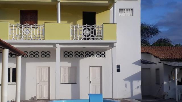 Aluga-se casa em Praia de Jatobá com piscina e suítes confortáveis - Foto 4