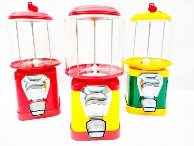 Máquina de Bolinha Pula Pula Pokemon Chicletes - Vending Machine