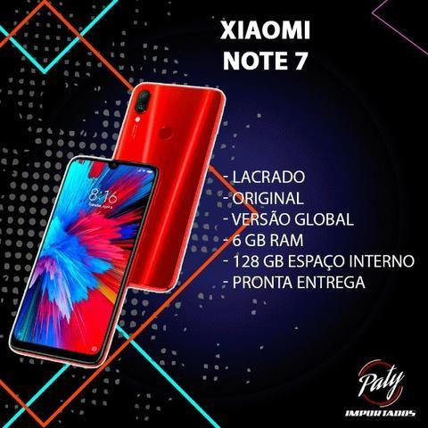Xiaomi // Note 7 Vermelho // 128GB // Pronta Entrega // Versão Globa - Paty Importados