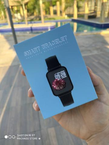 Smartwatch B57 Hero NOVO - Foto 5