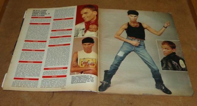Cazuza - Revista Manchete de 08/07/1989 - Foto 3