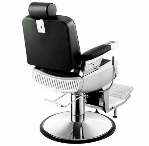 Cadeira Hidráulica e Reclinável Salão Ou Barbearia Nova com Garantia - Foto 2