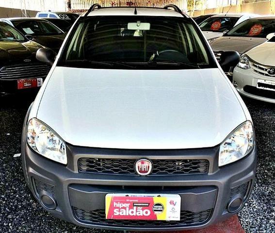 Fiat Strada Working Cabine Dupla 3 Portas | 2014 - Foto 2