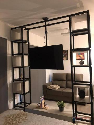 Apartamento com 1 dormitório para alugar, 40 m² por R$ 1.800,00/mês - Jardim Tarraf II - S - Foto 10