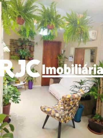 Apartamento à venda com 1 dormitórios em Humaitá, Rio de janeiro cod:MBAP10246 - Foto 4
