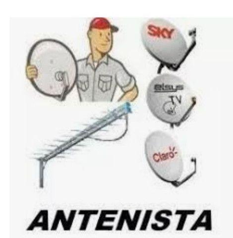 Montagem e instalações de antenas em gera