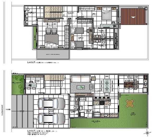 Residencial Arbre, Belissima Casa, 3 suítes, 2 andares - Foto 2