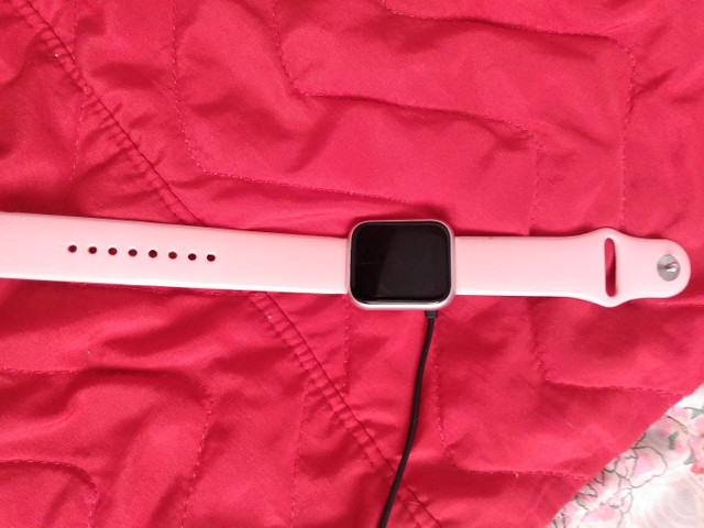 Relógio smartwatch e um moto G7 play - Foto 3