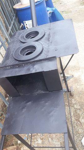 Fogão caipira de ferro - Foto 2
