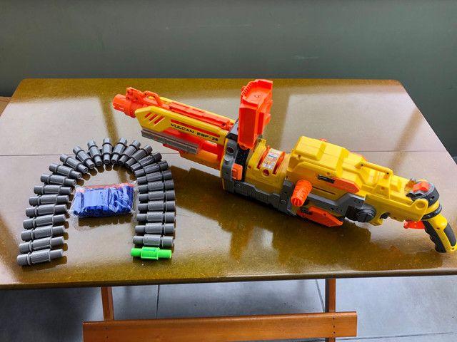 Metralhadora / arma NERF - Foto 3