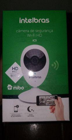 Câmera de segurança wi-fi HD, NA CAIXA