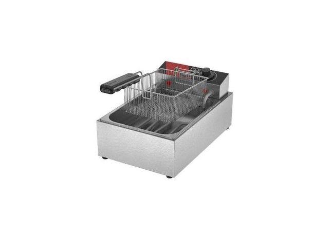 Fritadeira elétrica 1 cesto - JM equipamentos