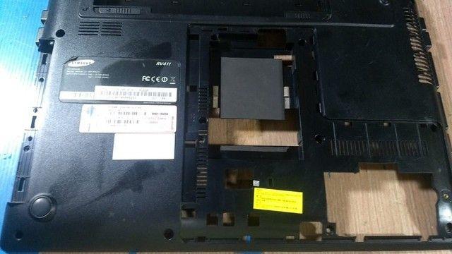 Carcaça Base Inferior Samsung Rv411 - 104