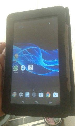 Tabreti da mu tablet da Multilaser semi-novo140reaa vendo ele