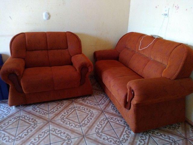 Vendo Sofá 2 e 3 lugares - Foto 3