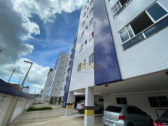 Apartamento com 2 dormitórios para alugar, 73 m² por R$ 1.400,00/mês - Catolé - Campina Gr